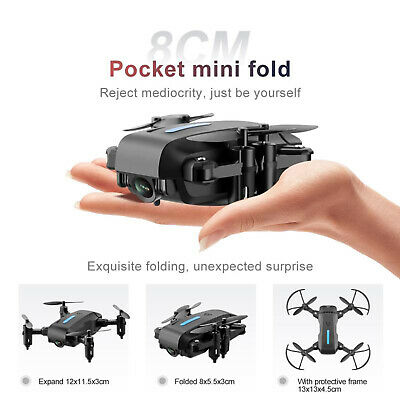 AU41.91 • Buy RC Drone With Camera For Adults With 15 Mins Action Time FPV Transmission, Auto