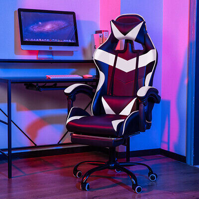 £79.99 • Buy Racing Gaming Chairs Swivel Lift Office Executive Recliner Computer Desk Chair