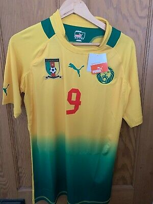 £59.99 • Buy 2011-13 Cameroon Player Issue Away Shirt Eto'o #9 *with Tags* XL (tight Fit)