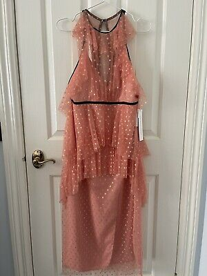 AU175 • Buy Alice McCall You + Me Dress Rose Tulle (AU12) ***New With Tags*** RRP$450