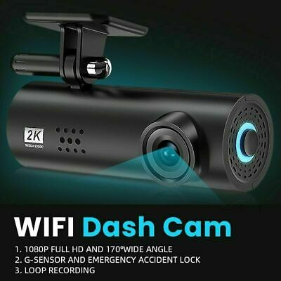 AU40.88 • Buy WIFI Car Dash Cam HD 1080P Hidden Car DVR Camera Recorder Night Vision G-Sensor