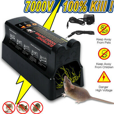 £27.59 • Buy Electronic Mouse Trap Mice Rat Killer Pest Victor Control Electric Rodent DC 6V