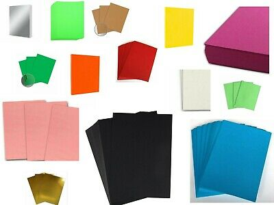 £4.94 • Buy A4 CARD 220gsm To 300gsm ~ CHOOSE YOUR COLOUR ~ 10 SHEETS PER PACK
