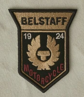 Belstaff Motorcycles 1924 Patch (70 Mm) Embroidered Iron/Sew-on Badge Biker NEW • 5.99£