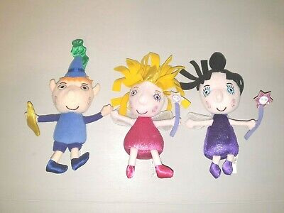 £29.99 • Buy Ben, Holly & Nanny Plum: Small Soft Toys - From Ben & Holly's Little Kingdom