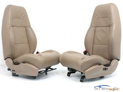 $1585 • Buy Ford Explorer Sport Eddie Bauer Tan Leather Used Front Rear Seats 1995 - 2003