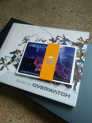 AU22.36 • Buy Overwatch Visual Source Book And Postcards Art Characters Collectors - NO GAME!