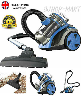 £56.99 • Buy Cyclonic Bagless Cylinder Vacuum Cleaner Powerful Compact 800W Hoover Pet Care