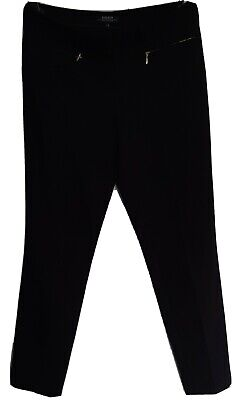 £2.99 • Buy Black Cropped Trousers Size 8