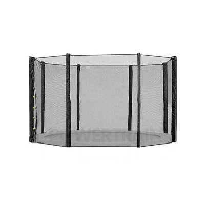 AU79.95 • Buy 8Ft Replacement Trampoline Safety Net Outdoor Enclosure 6 Pole
