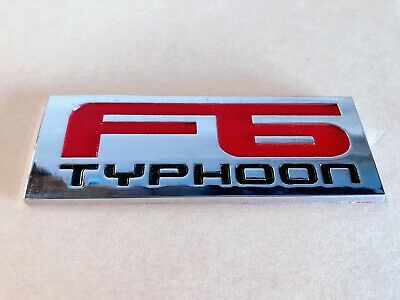 AU30 • Buy F6 Typhoon Rear Boot Badge For Ba Bf Fpv Series