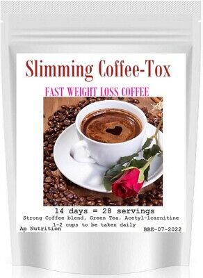 £12.99 • Buy STRONG FAT BURNING COFFEE (Fast Weight Loss Diet Coffee-Tox Slimming STYLE