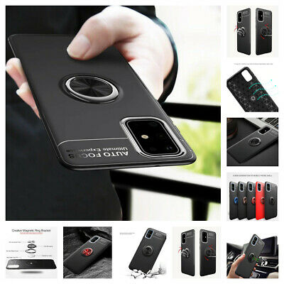 AU11.95 • Buy Samsung Galaxy S21/Note20 Ultra S20 FE/N10/S9/S8 Luxury Magnetic 360* Ring Case