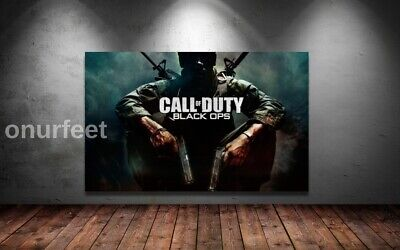 £19.99 • Buy CALL OF DUTY BLACK OPS COD GAMING GAME ART WALL ART 30x20 Inch Canvas