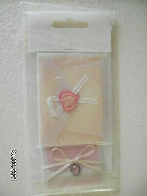 £1 • Buy 2 Beautifully Decorated Vellum Envelope Toppers For Your Crafts (B76)