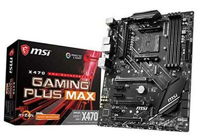 AU204.42 • Buy  Performance Gaming AMD X470 Ryzen 2ND And 3rd Motherboard X470 GAMING PLUS MAX