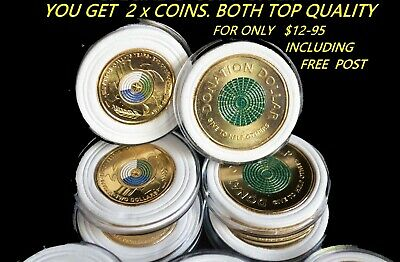AU12.95 • Buy 2020 $2 75th ANNIV END WW2 + $1 DONATION COIN IN CAPSULES, 2 X COINS + FREE POST