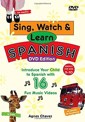 £6.49 • Buy Sing, Watch And Learn Spanish (Book & DVD), Very Good Condition Book, , ISBN 978