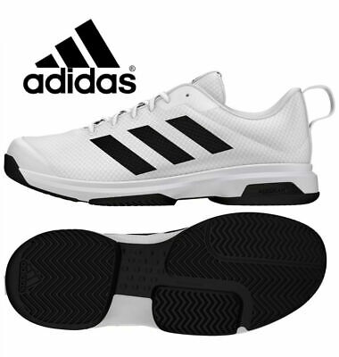 $ CDN46.36 • Buy NIB Adidas Men's Game Spec Athletic Tennis Shoes Black/White Various Size