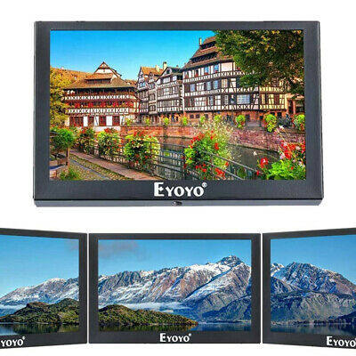 AU83.69 • Buy Eyoyo 5 Inch Small Mini Monitor TFT LCD Display Screen HD/VGA/BNC/AV Video Input