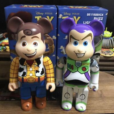$2410 • Buy Disney Toy Story Buzz Woody 400% Set Bearbrick With Box Shipped From Japan