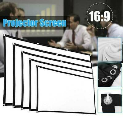 AU20.79 • Buy 60~150  Foldable Projector Screen 16:9 HD Home Cinema Theater Movie Outdoor