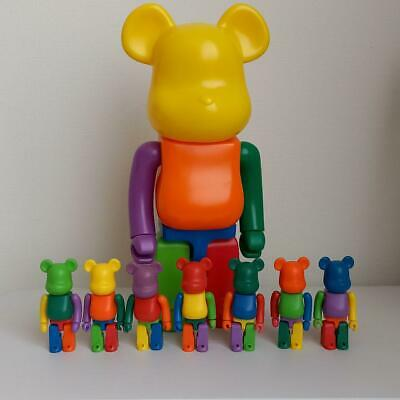 $252 • Buy ​Be@rbrick Eric Saw 400% & 100% Bearbrick Medicom Toy Lot Of 8 Japan Shipped