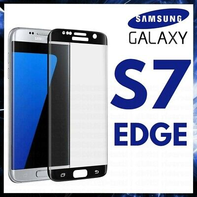 $ CDN6.83 • Buy For SAMSUNG GALAXY S7 EDGE CURVED SCREEN PROTECTOR FULL GORILLA TEMPERED GLASS