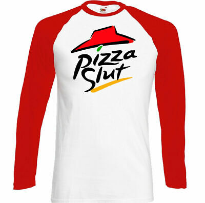 £9.49 • Buy Pizza Slut T-Shirt, Mens Funny Food Parody Unisex Top Party BBQ Offensive Rude