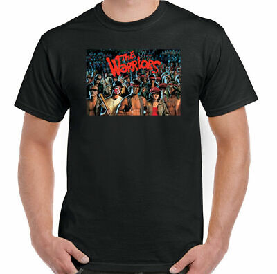 £10.49 • Buy The Warriors T-Shirt Mens Retro 70's Movie USA 80's Film Cult Top Gang Poster