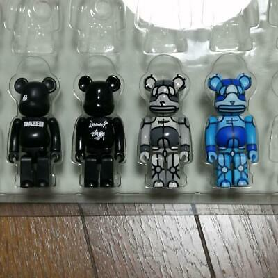 $232 • Buy Be@rbrick Carhart Gore-Tex X-Large Lot Of 4 100% Bearbrick Set In A Box Medicom