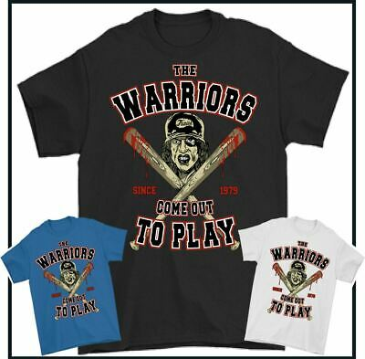 £9.49 • Buy THE WARRIORS T-SHIRT Come Out To Play Movie Film 70's New York Gang Furies Tee