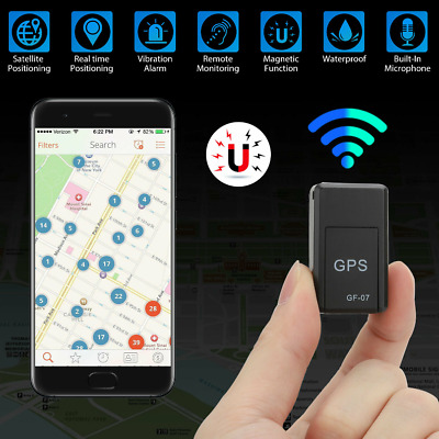 £6.86 • Buy Magnetic Mini GPS Tracker Car Kids GSM GPRS Real Time Tracking Locator Device UK