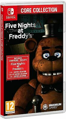 AU59 • Buy Five Nights At Freddys Core Collection Nintendo Switch Brand New Sealed