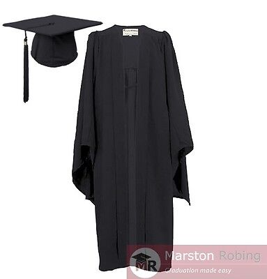 £19.95 • Buy University Academic Graduation Gown And Hat BA Bachelor- OFFER WEEK ONLY!