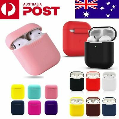 AU4.85 • Buy Apple AirPods Silicone Gel Case Shockproof Protective Skin Cover AirPods 1 2