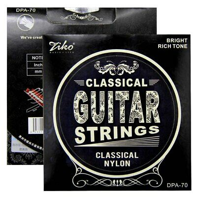 $ CDN5.16 • Buy 1 X  Set Ziko Classical Guitar Strings DPA-70 Free UK SHIPPING