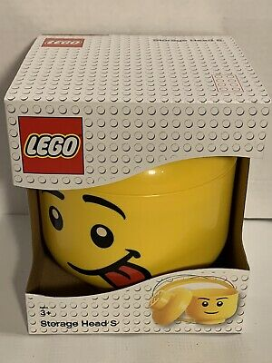£13.03 • Buy 2018 Lego Storage Head Small Silly Face/Tongue New In Packaging
