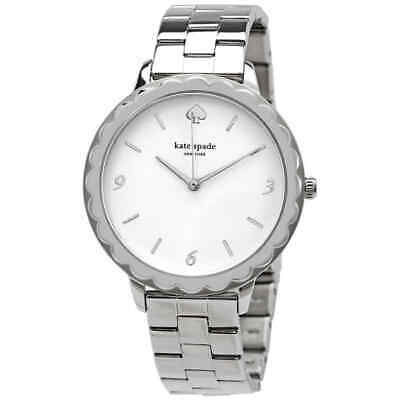 $ CDN85.51 • Buy Kate Spade Metro Scallop Silver Dial Ladies Watch KSW1493