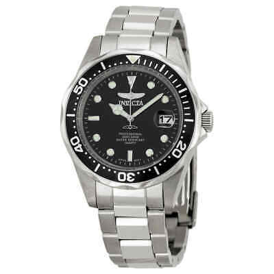 $45.49 • Buy Invicta Pro Diver Black Dial Stainless Steel Men's Watch 8932