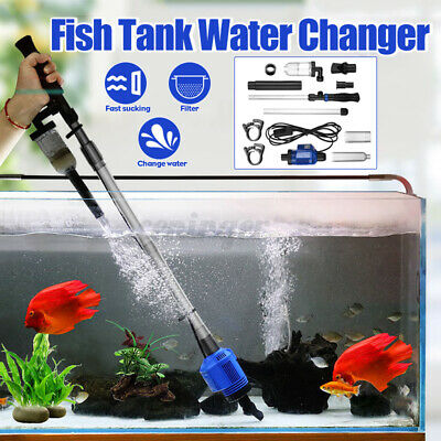 AU29.98 • Buy Aquarium Gravel Cleaner Electric Water Changer Fish Sand Washer Fish Tank A
