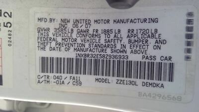 $45 • Buy Heater Climate Temperature Control With AC Fits 03-08 COROLLA 3434246