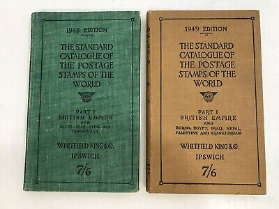 £8 • Buy The Standard Catalogue Of The Postage Stamps Of The World - 2 Books - 1948+1949