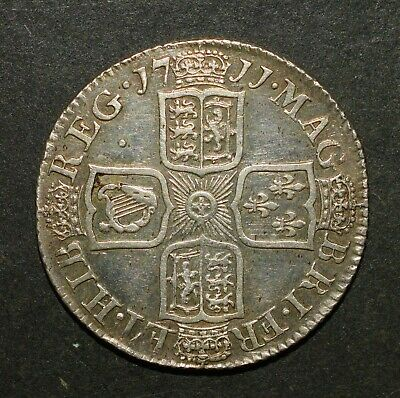 £320 • Buy 1711 Shilling. Queen Anne British Silver Shilling. Very Nice
