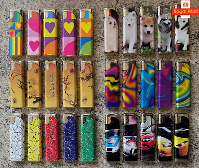 £3.20 • Buy 4x Variety Of Electronic Refillable Gas Lighters
