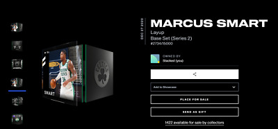 $49.95 • Buy Marcus Smart Layup S2 - NBA Top Shot NFT Digital Card Moment #2734/15000 LE