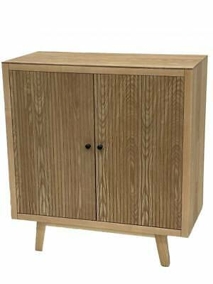 AU488.99 • Buy Kay Sideboard Cabinet Buffet Storage Cupboard Timber Natural 80x86cm