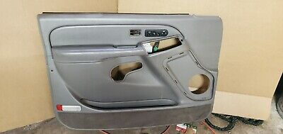$179 • Buy 99-06 Silverado Driver Door Panel J81 Medium Dark Pewter (grey) 15120476