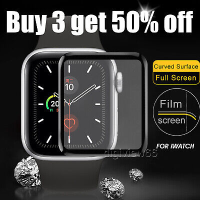 $ CDN5.04 • Buy Screen Protector For Apple Watch Series 1 2 3 4 5 6 SE TPU FILM Cover - Clear