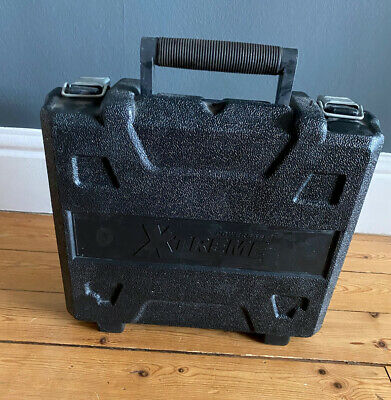 Powerbase Xtreme Empty Drill Case Tool Carry Hard Shell L32cm H28cm D12cm • 8£